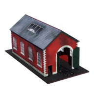 KIT05-01-02: OO Scale Pitched Roof Engine Shed