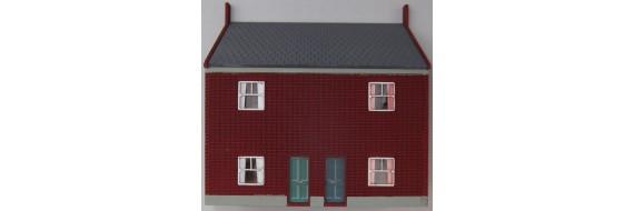 OO Gauge Low Relief Cottage