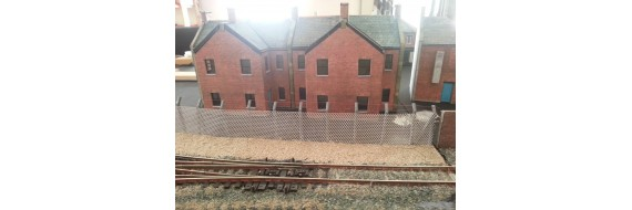 OO Gauge Security Fencing