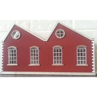 KIT06-01-02L OO Scale Single Height North Light Low Relief - Left