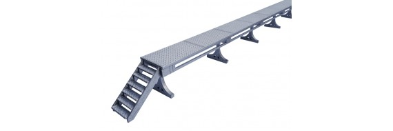 O Gauge DMU Stabling Platform